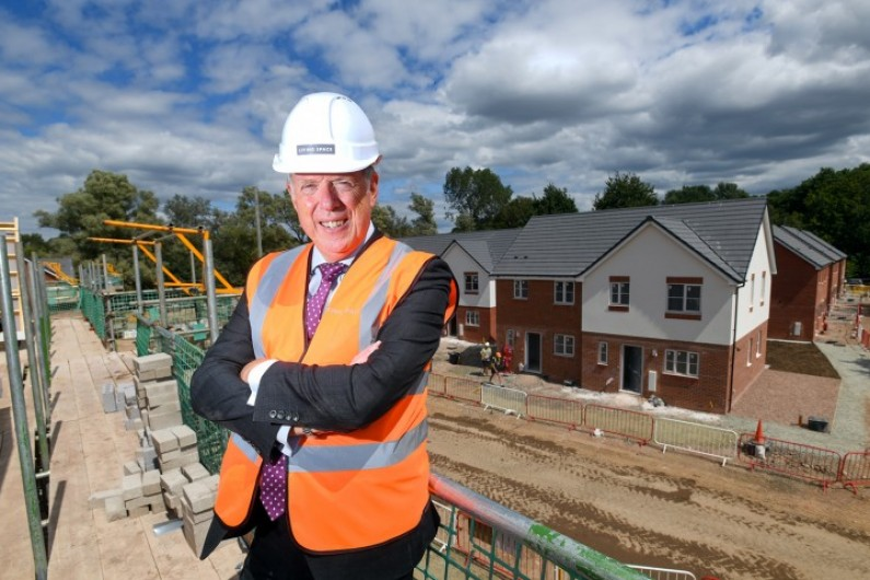 Steve Davies MD of Living Space Housing LR