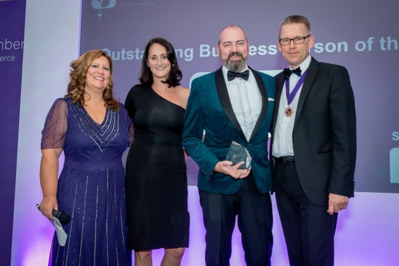 Tony Elvin Outstanding Business Person of the Year